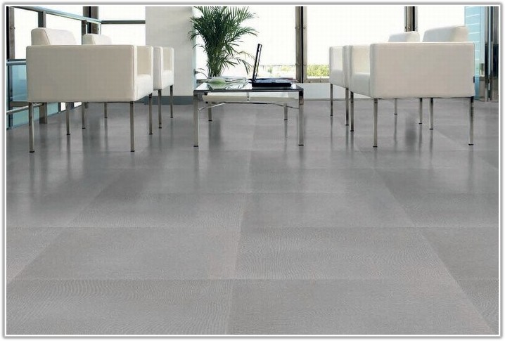 Light Grey Porcelain Floor Tiles