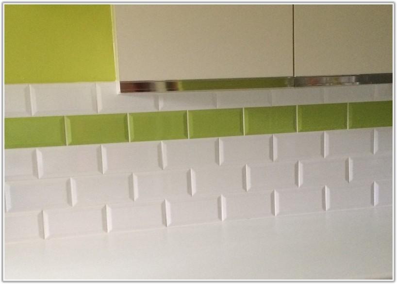 Lime Green Metro Wall Tiles