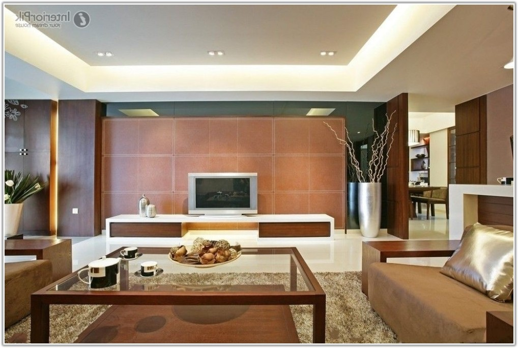Living Room Wall Tile Ideas
