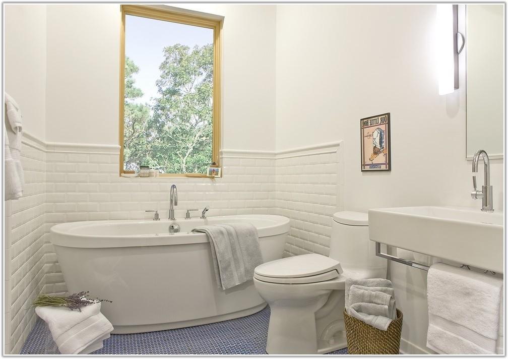 Mid Century Modern Bathroom Floor Tile