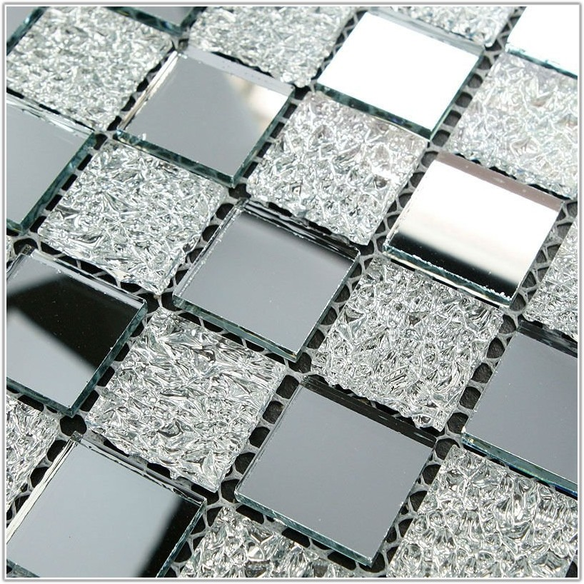 Mirrored Tiles For Kitchen Backsplash