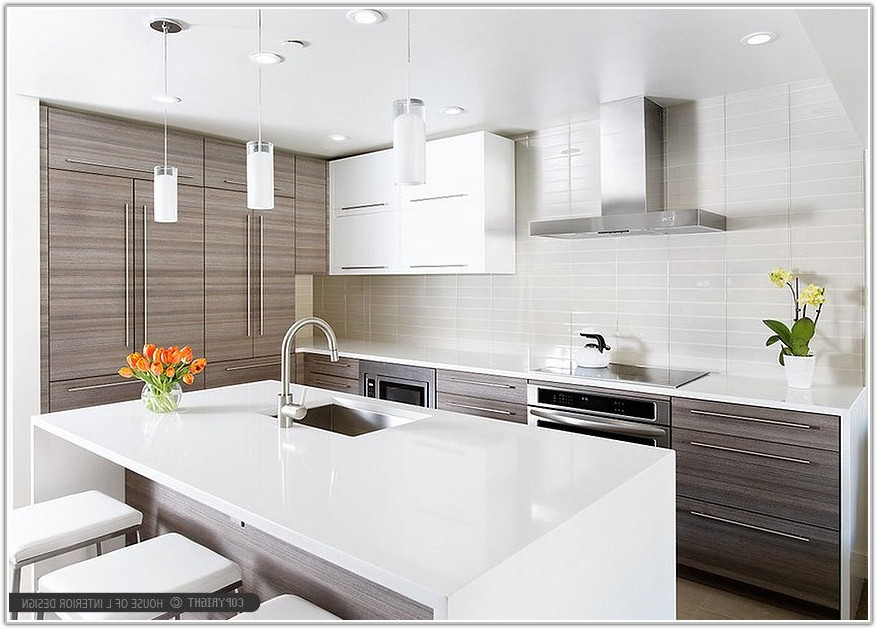 Modern Kitchen Backsplash Glass Tile