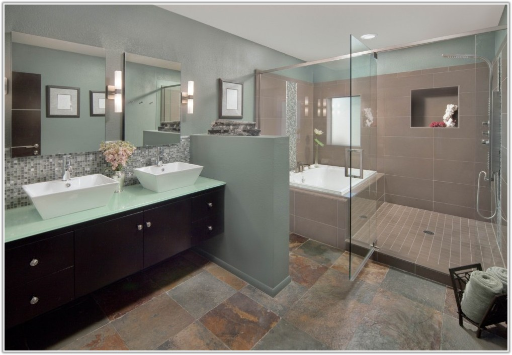 Modern Master Bathroom Tile Ideas