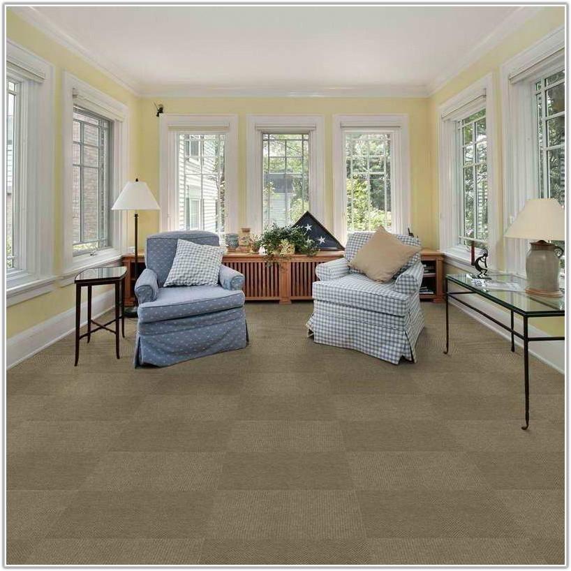 Modular Carpet Tiles For The Home