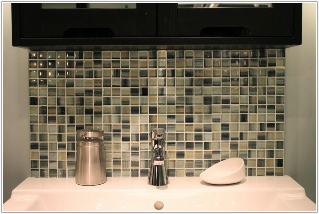 Mosaic Tile Bathroom Floor Design
