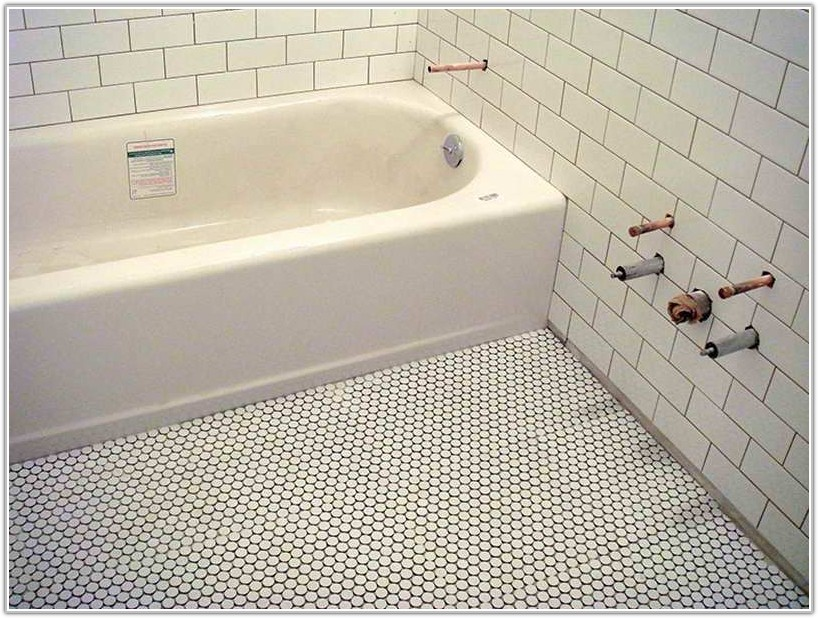 Mosaic Tile Bathroom Floor Ideas