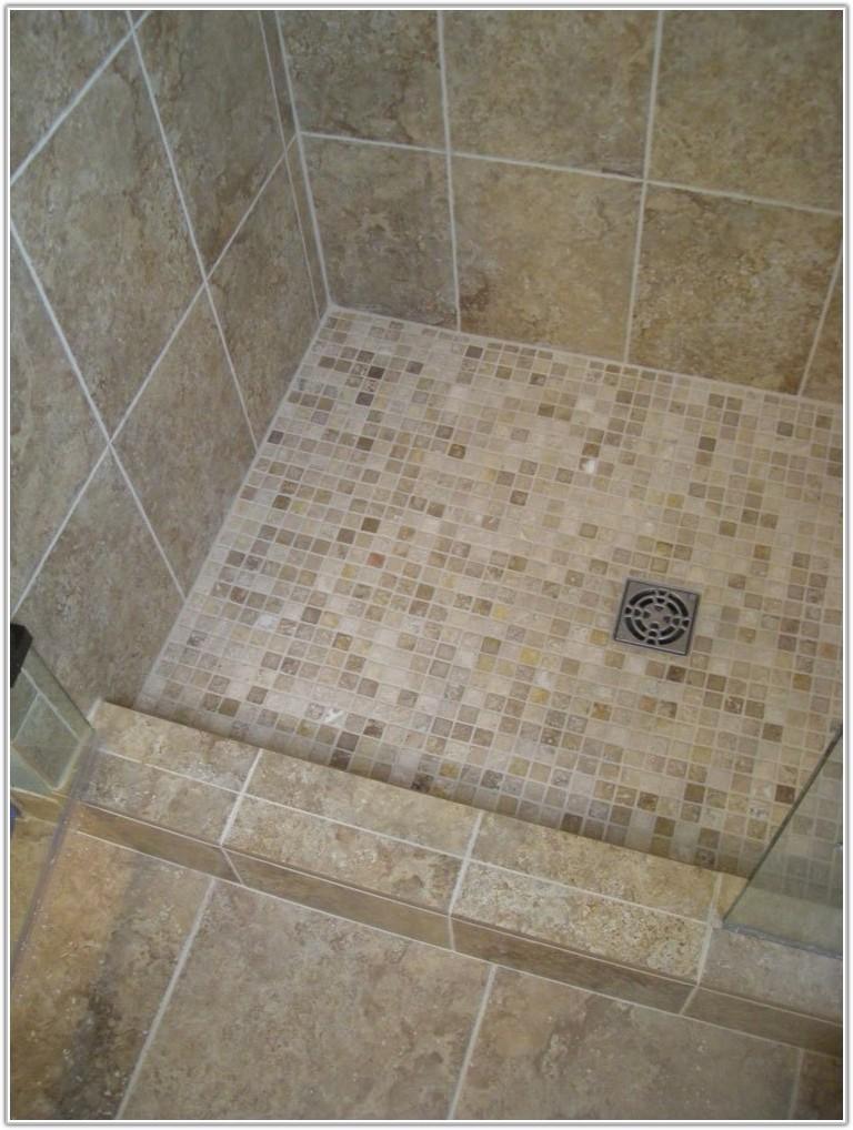 Mosaic Tile Floor For Bathroom