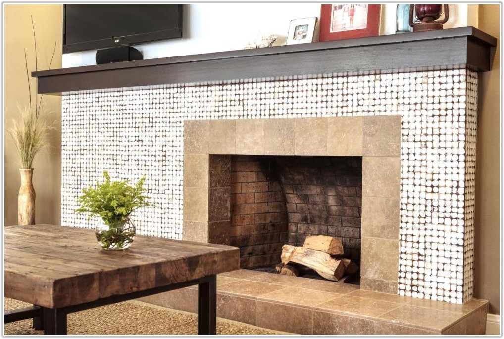 Mosaic Tile For Fireplace Surround