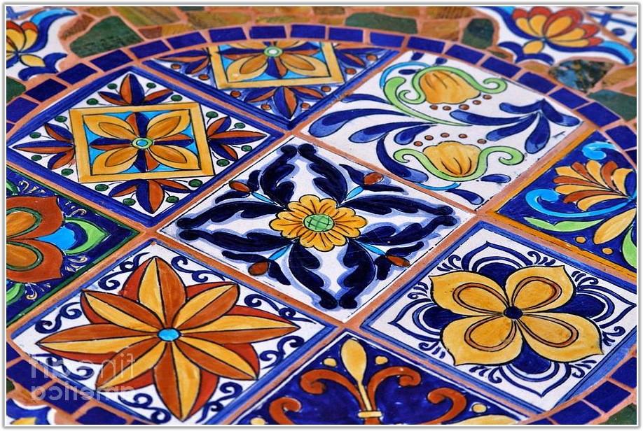 Mosaic Tile Table Top Patterns