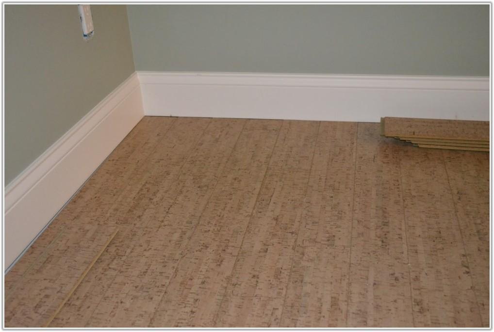 Natural Cork Flooring For Bathroom
