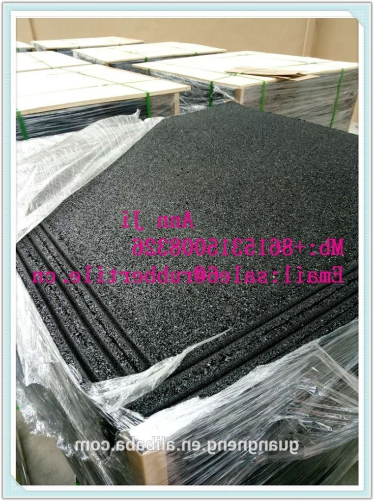 Outdoor Rubber Floor Tiles Interlocking