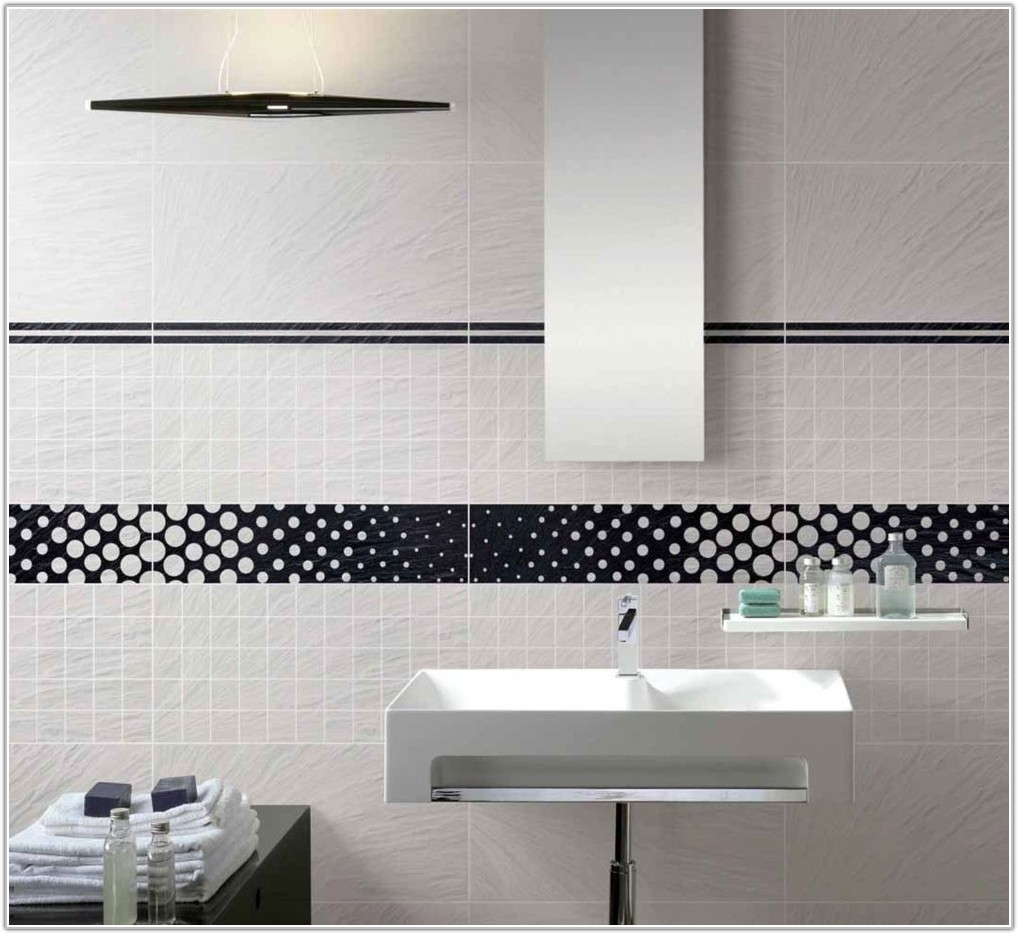 Painting Ceramic Bathroom Wall Tiles