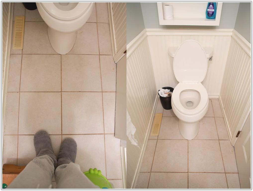 Painting Ceramic Tile Floors Bathroom