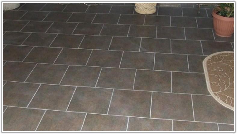 Painting Glazed Ceramic Floor Tiles