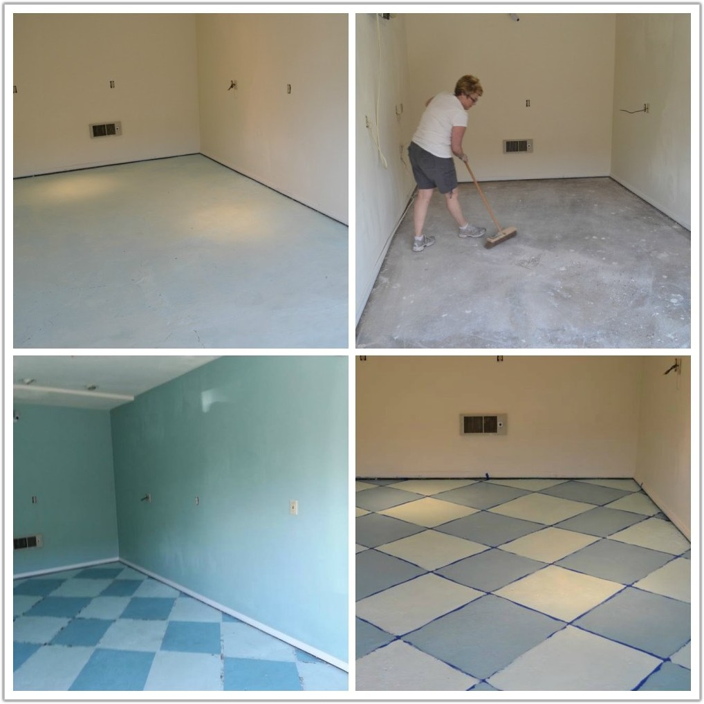 Painting Kitchen Floor Ceramic Tile