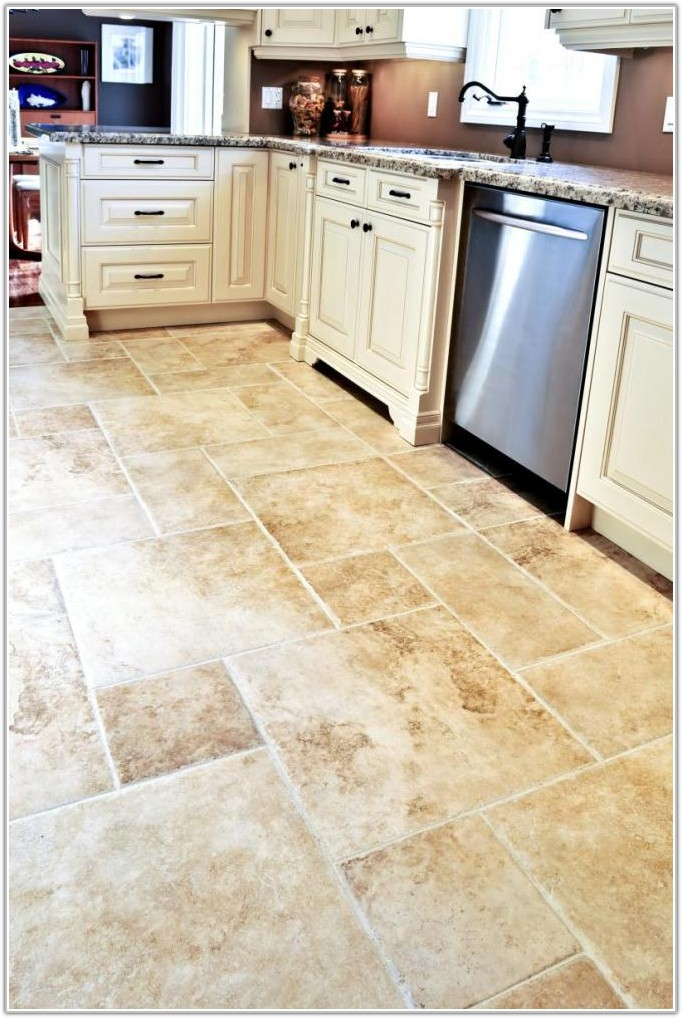 Pictures Of Tile Flooring For Kitchen