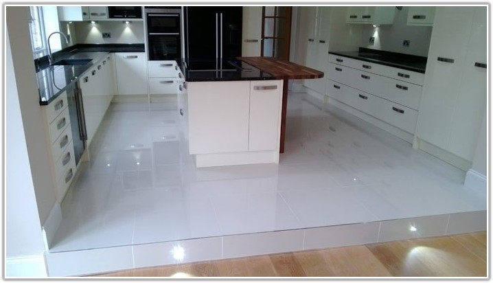 Polished Porcelain Kitchen Floor Tiles