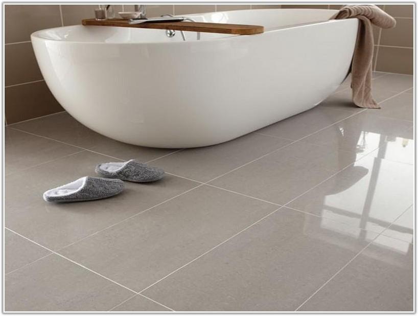 Polished Porcelain Tiles Bathroom Floor