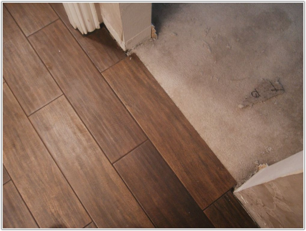 Porcelain Plank Wood Look Tile