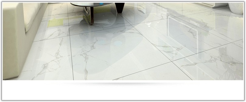 Porcelain Tile White Marble Look