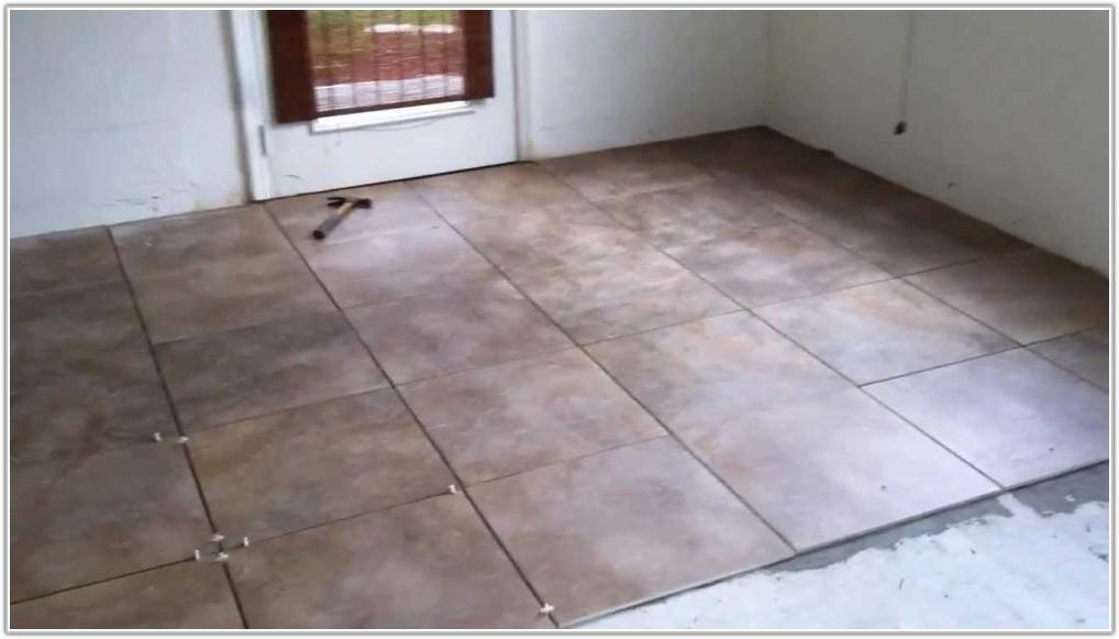Porcelain Tiles For Garage Floor