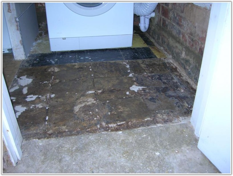 Removal Of Floor Tile Adhesive