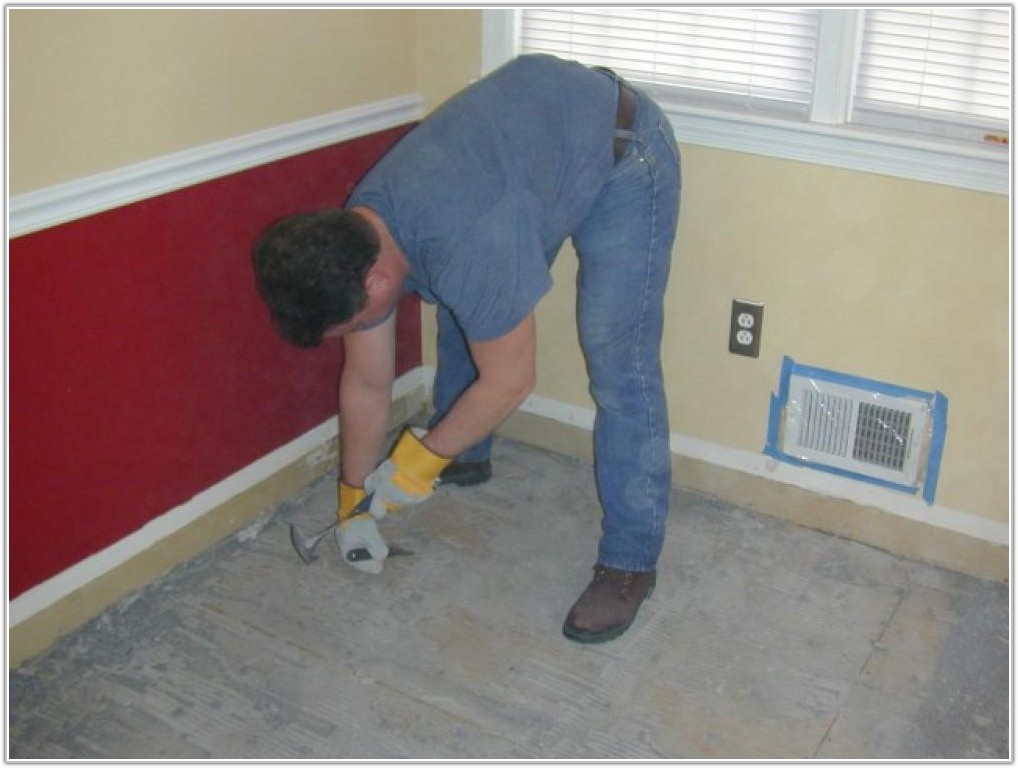 Remove Ceramic Tile Floor From Wood