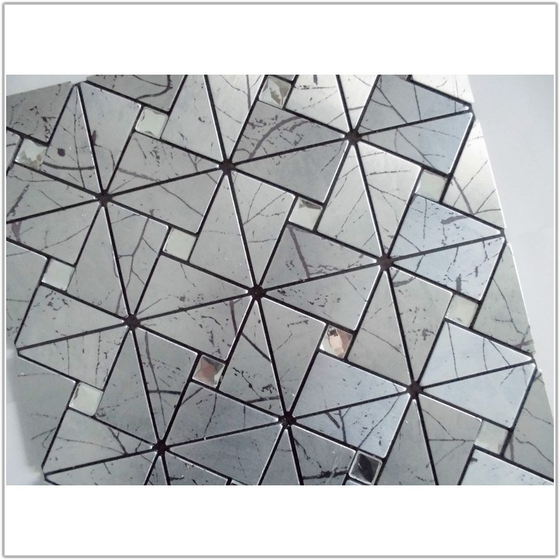 Self Stick Metal Wall Tiles