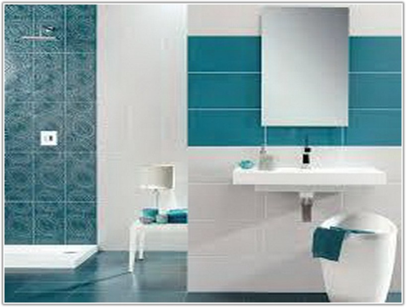 Simple Bathroom Wall Tiles Design