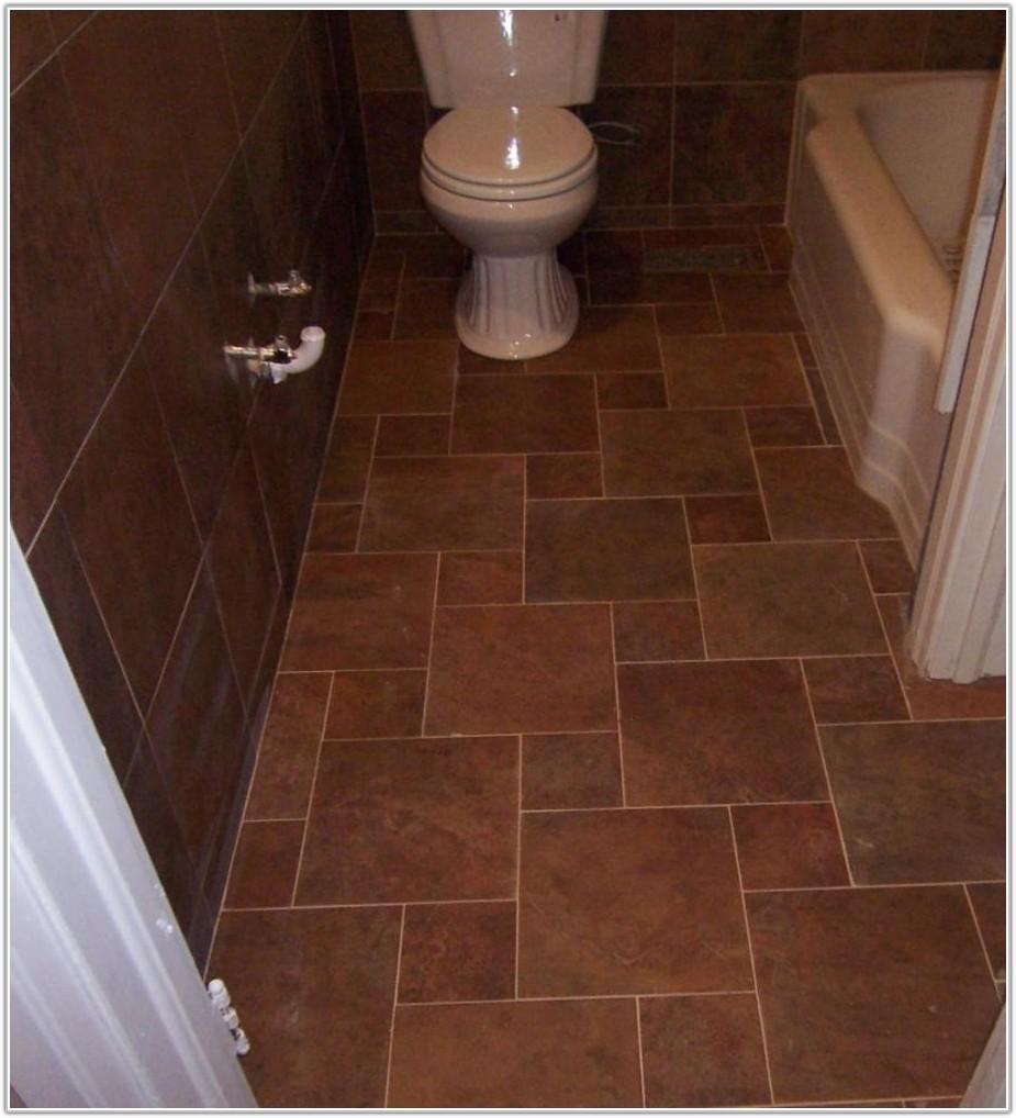 Small Bathroom Floor Tile Patterns Ideas