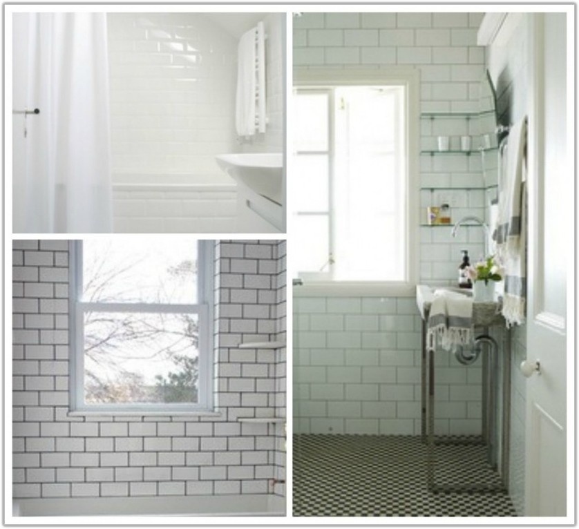 Small Bathroom Remodel Subway Tile