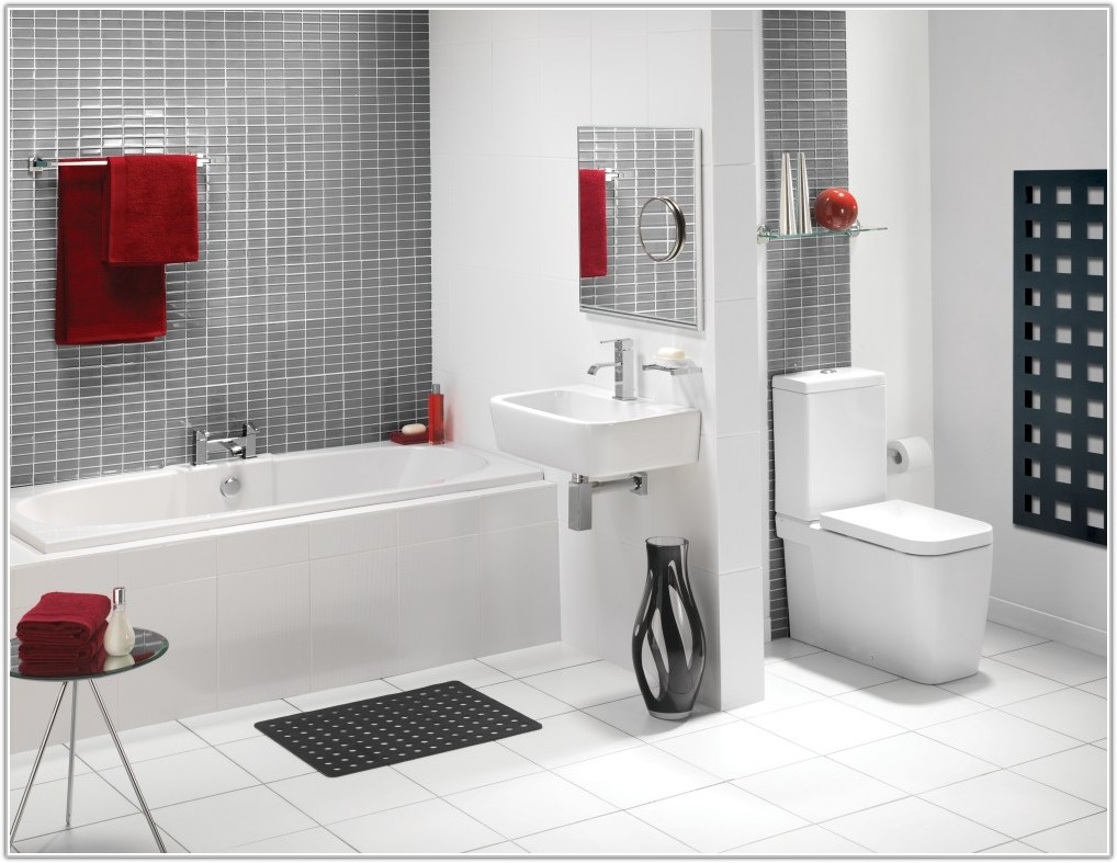 Small Bathroom White Tile Ideas
