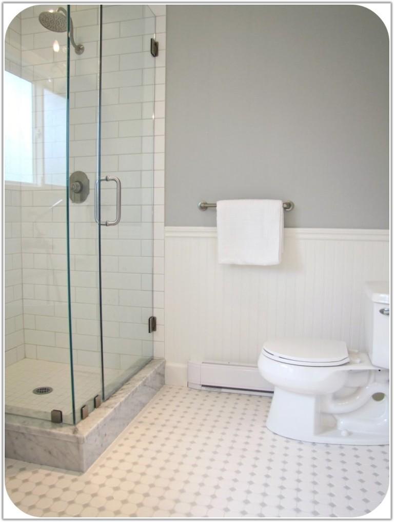 Small White Bathroom Floor Tiles