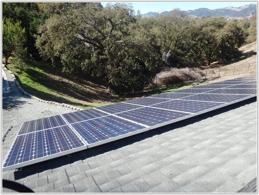 Solar Panels On Metal Tile Roof