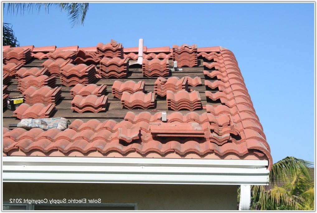 Solar Panels On Spanish Tile Roof
