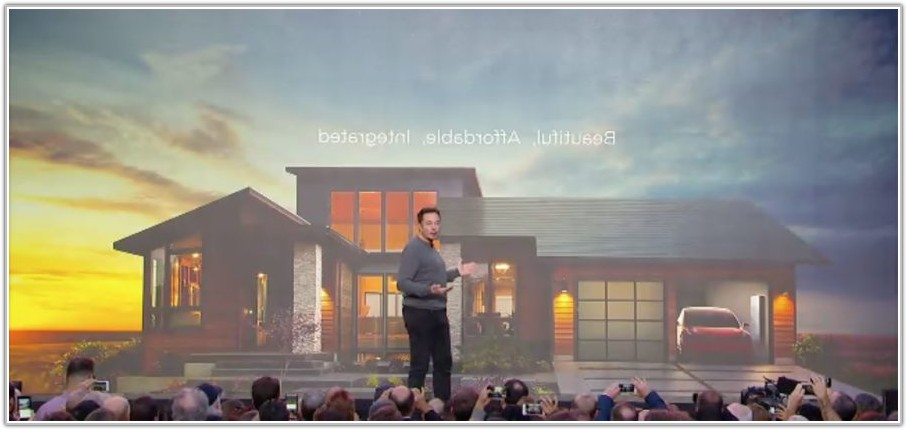 Solar Power Roof Tiles Tesla