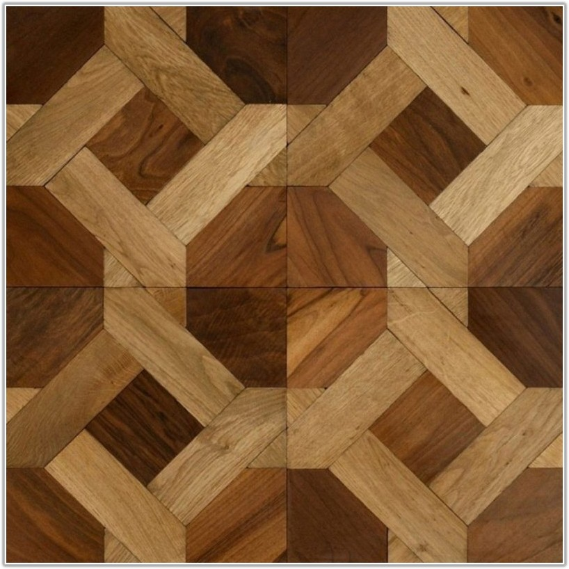 Solid Wood Parquet Floor Tiles