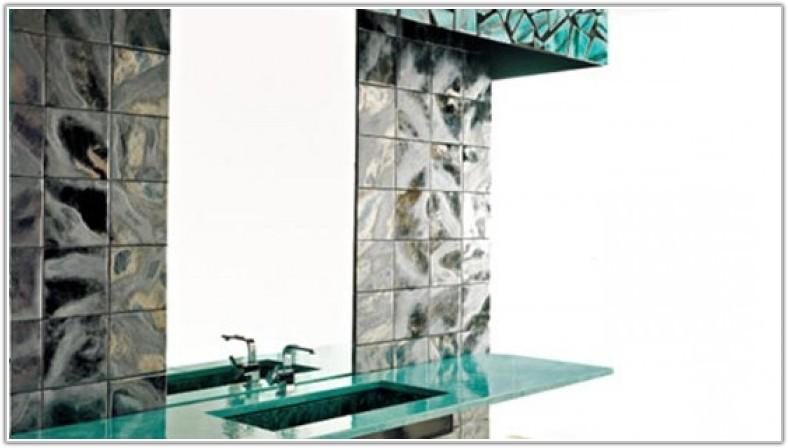 Spray Paint Ceramic Tile Backsplash