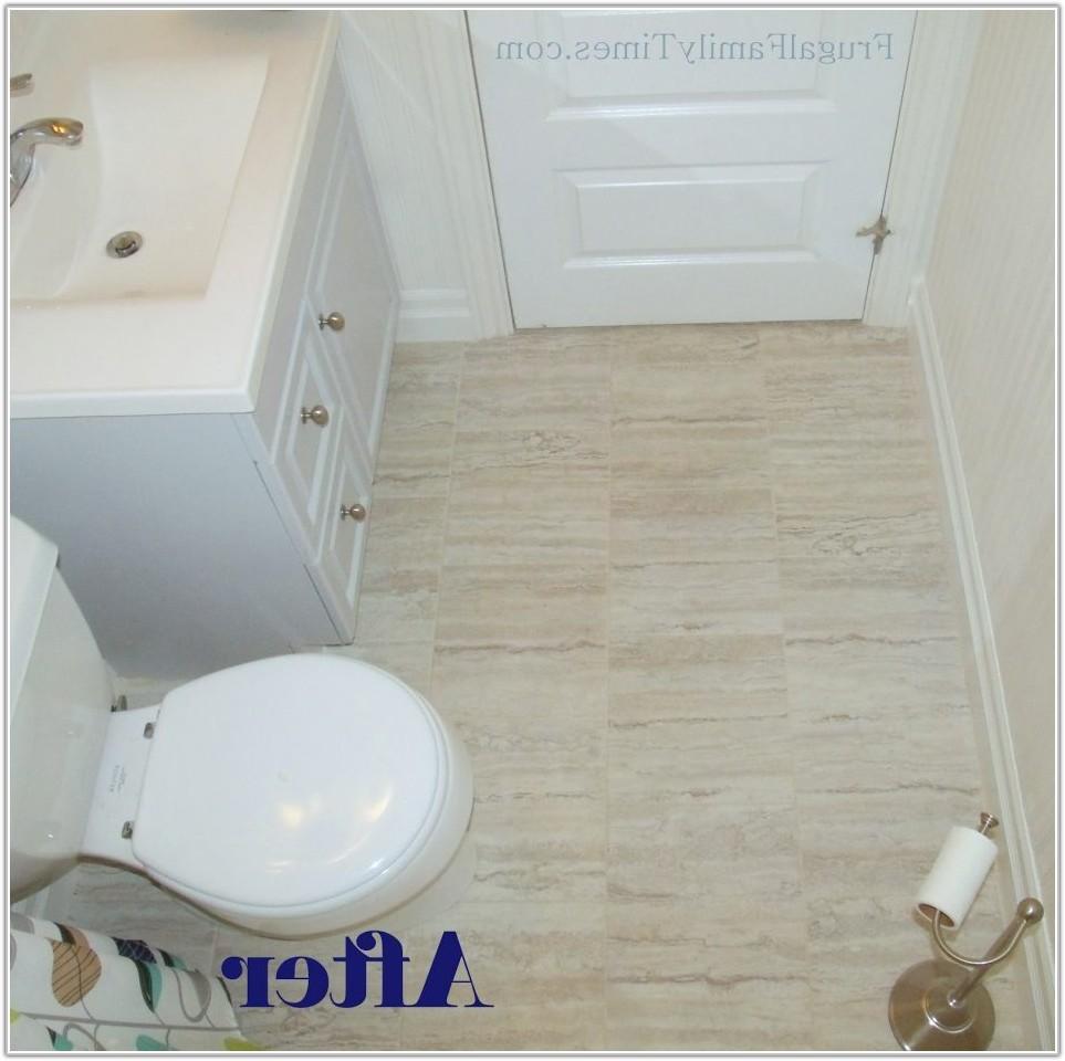 Stick On Bathroom Floor Tiles