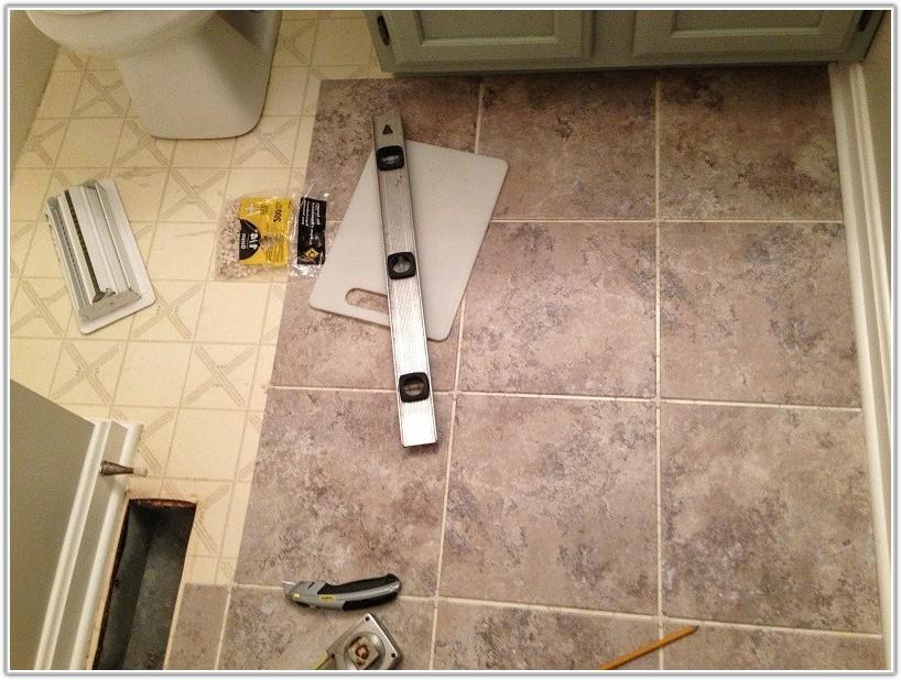 Stick On Floor Tiles Bathroom