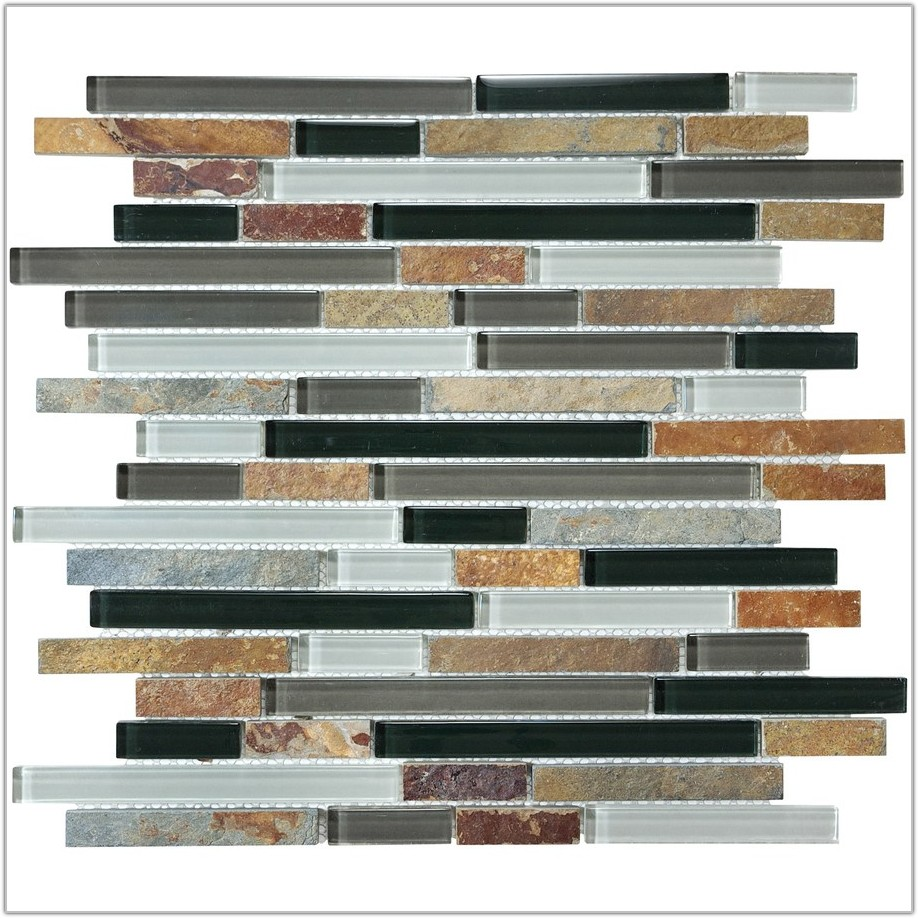 Stone And Glass Mosaic Wall Tile