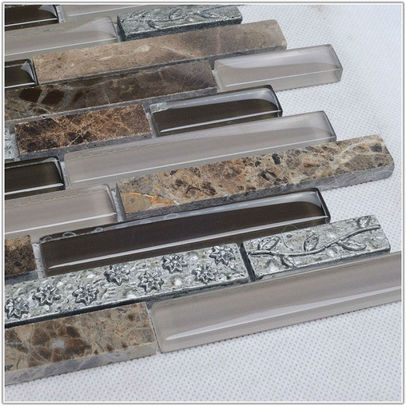 Stone Mosaic Tile Backsplash Ideas