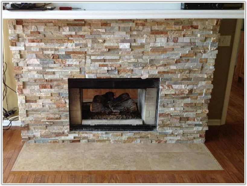 Stone Tile For Fireplace Surround