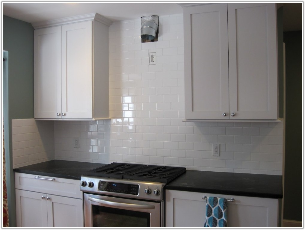 Subway Tile Backsplash Ideas With White Cabinets
