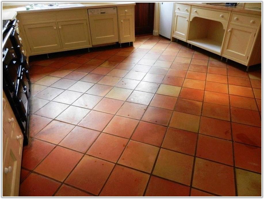Terracotta Floor Tiles In Kitchen