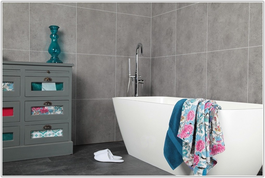 Tile Effect Bathroom Wall Panels