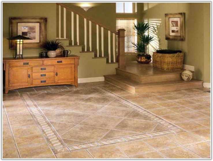 Tile Floor Designs For Living Rooms