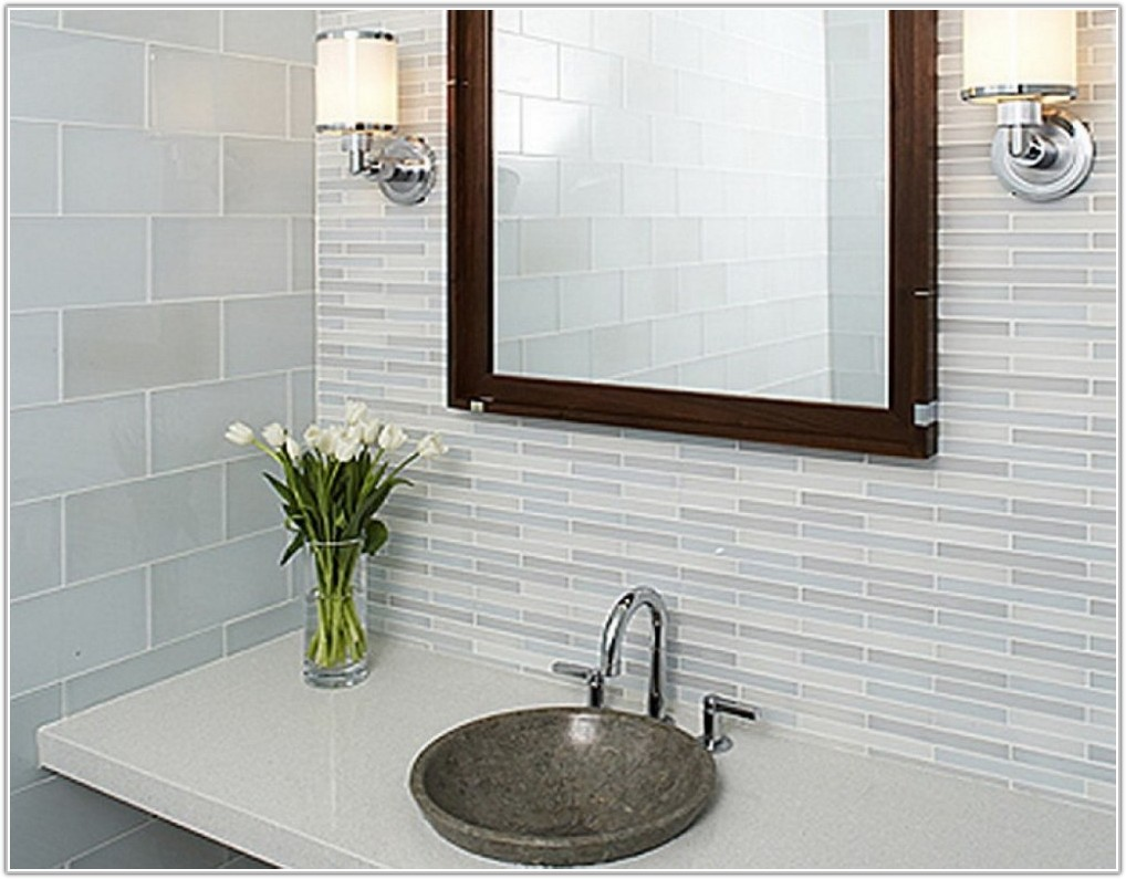 Tile Ideas For Small Bathroom Walls