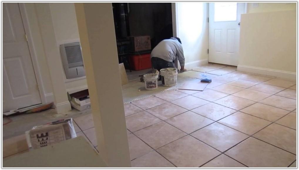 Tile On Concrete Basement Floor