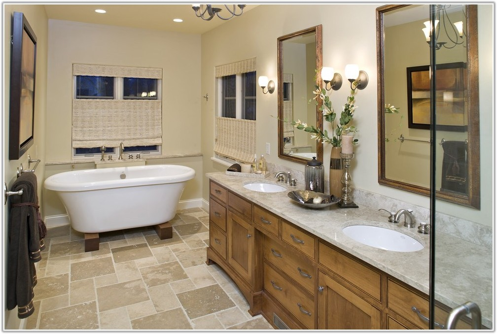Traditional Bathroom Floor Tile Patterns